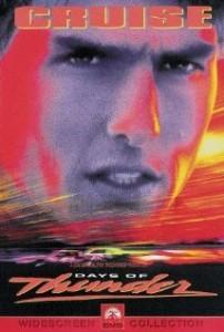 """Filmplakat des Rennfahrer-Films """"Days of Thunder"""""""