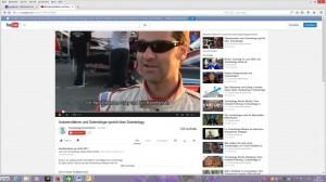 Screenshot DL 25.06.2014 Rennfahrer Kenton Gray (aus der Videosequenz)