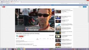 Screenshot DL 25.06.2014 Rennfahrer Kenton Gray (aus der Videosequenz) Teil 2