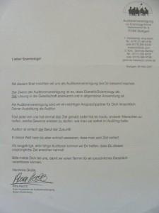 Schreiben Auditorenvereinigung vom 30.05.2007a