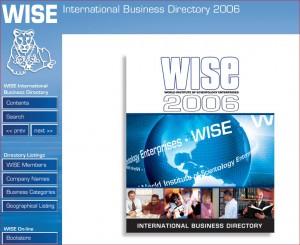 WISE 2006 Deckblatt