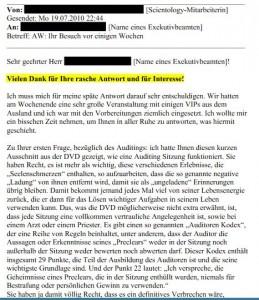 geleakte Mail vom 19.07.2010 1sc