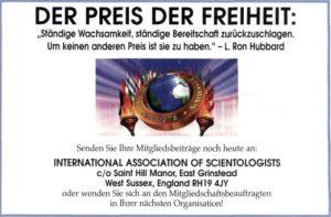 Der Preis der Freiheit IAS aus Source 144 aus 2003