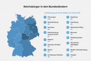 Reichsbürger in den Bundesländern